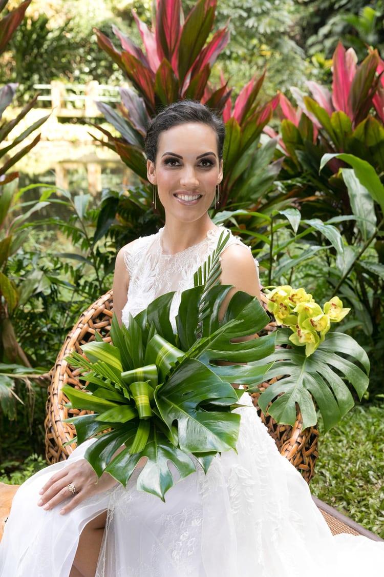 Hawaii garden wedding 105