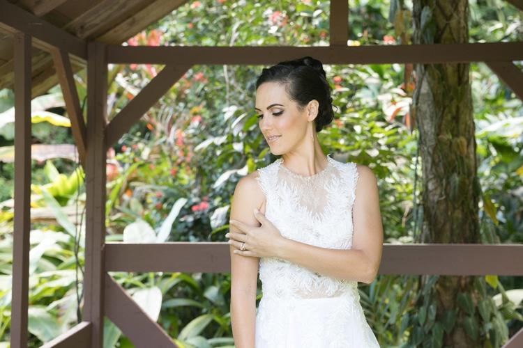Hawaii garden wedding 109