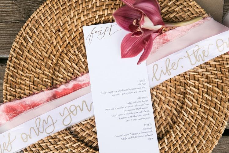 Hawaii garden wedding 13