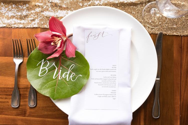 Hawaii garden wedding 19