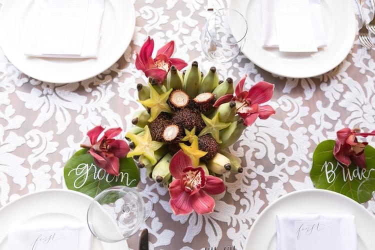 Hawaii garden wedding 20