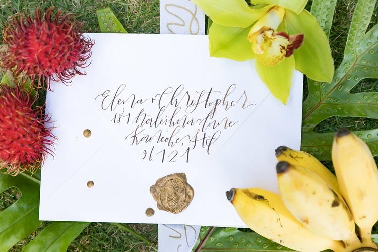 Hawaii garden wedding 3