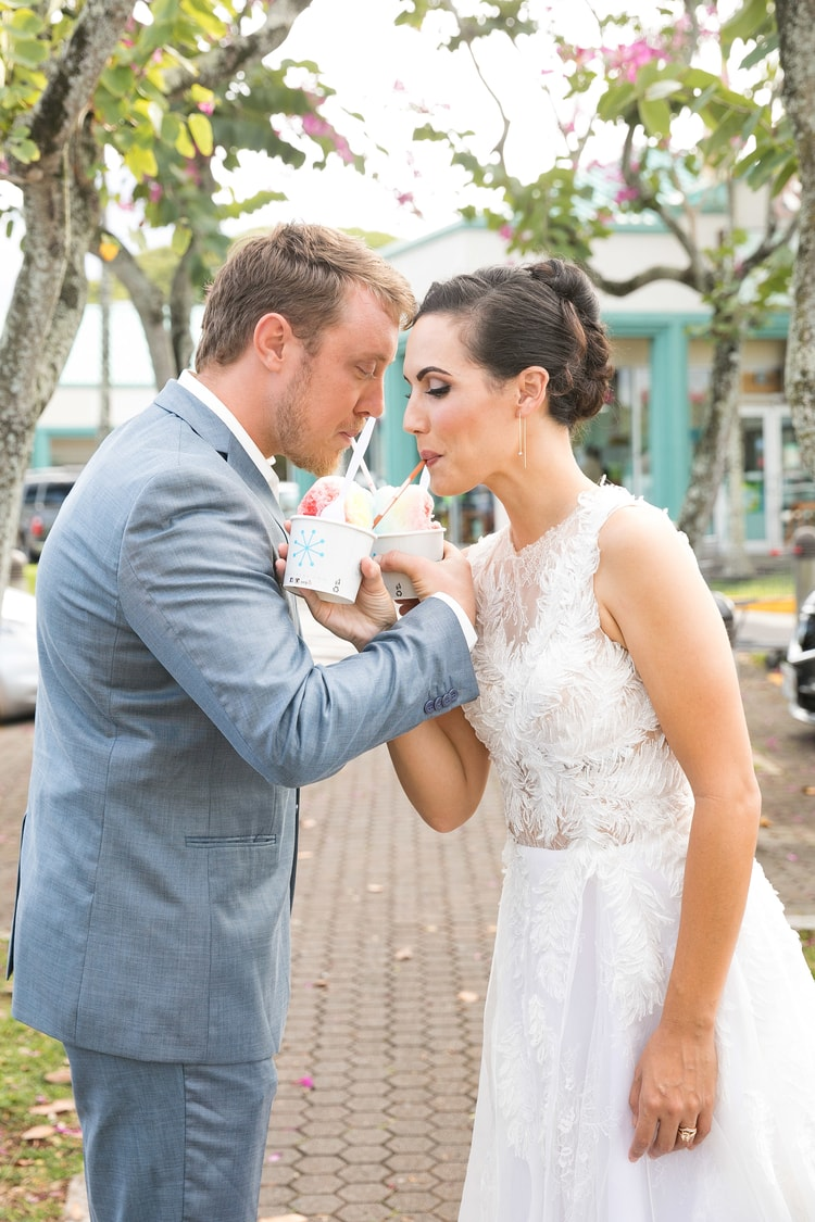 Hawaii garden wedding 35