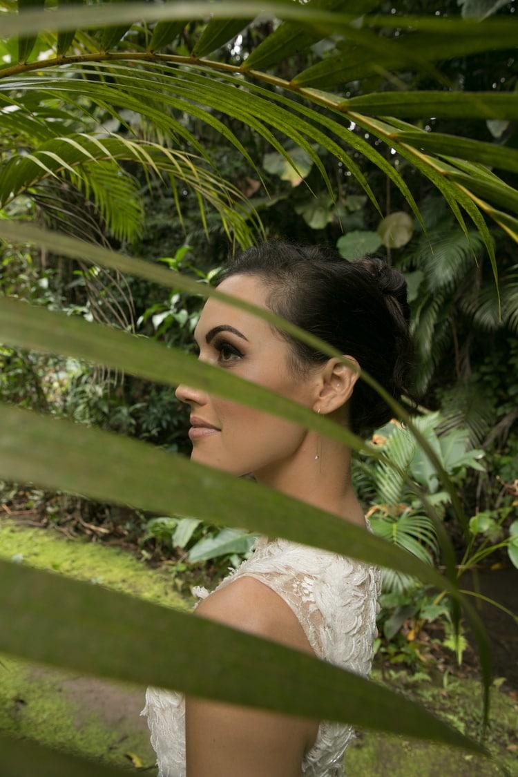 Hawaii garden wedding 81