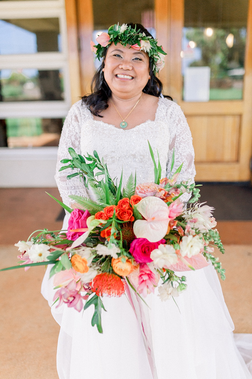 Hawaiian Destination Wedding Bride