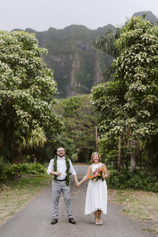 Hawaiian Mountain Wedding