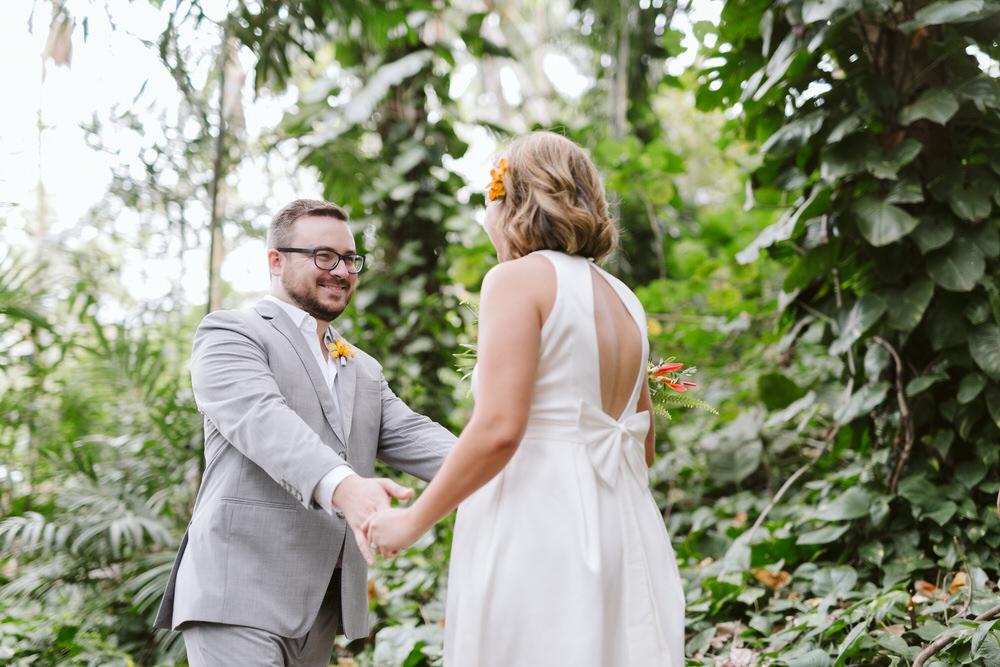 Hawaiian Wedding First Look