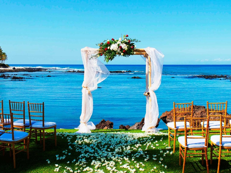 Hilton Hawaii wedding