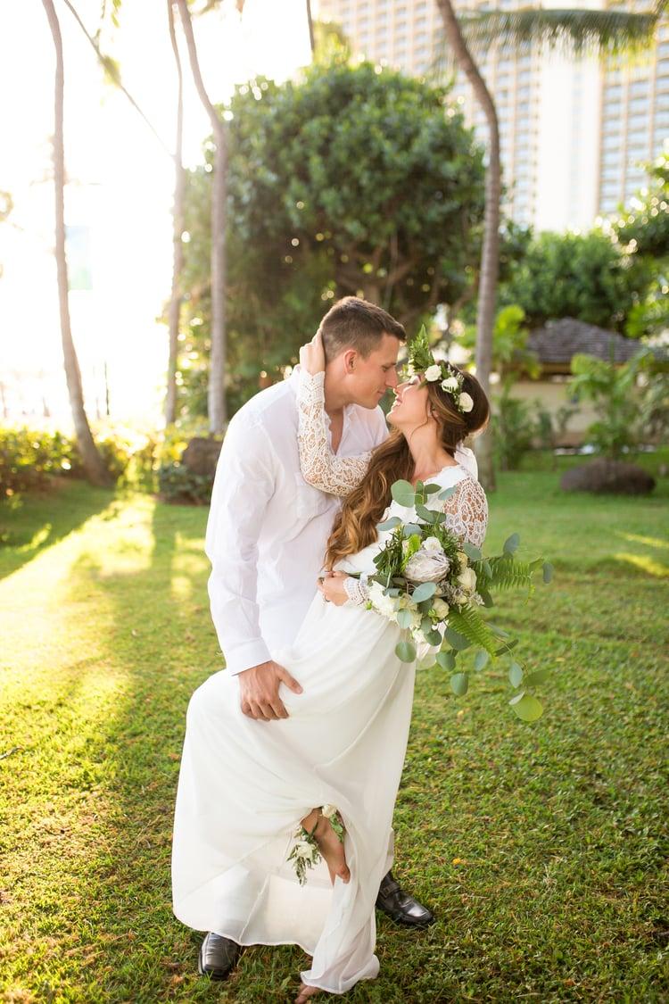 Hilton Hawaiian Village Wedding 77