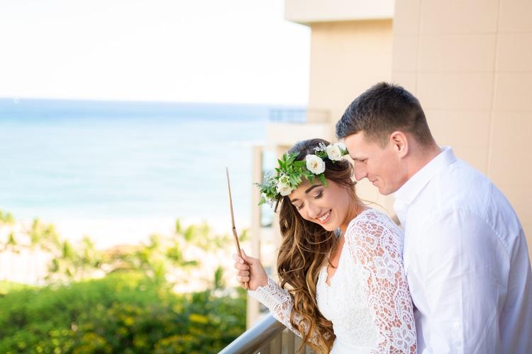 Hilton Hawaiian Village Wedding 94