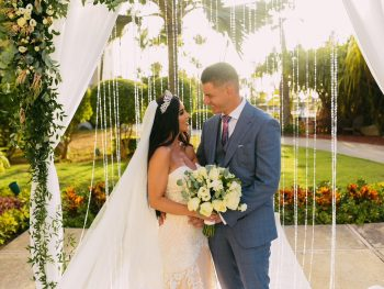 Gorgeous Garden Destination Wedding in Aruba