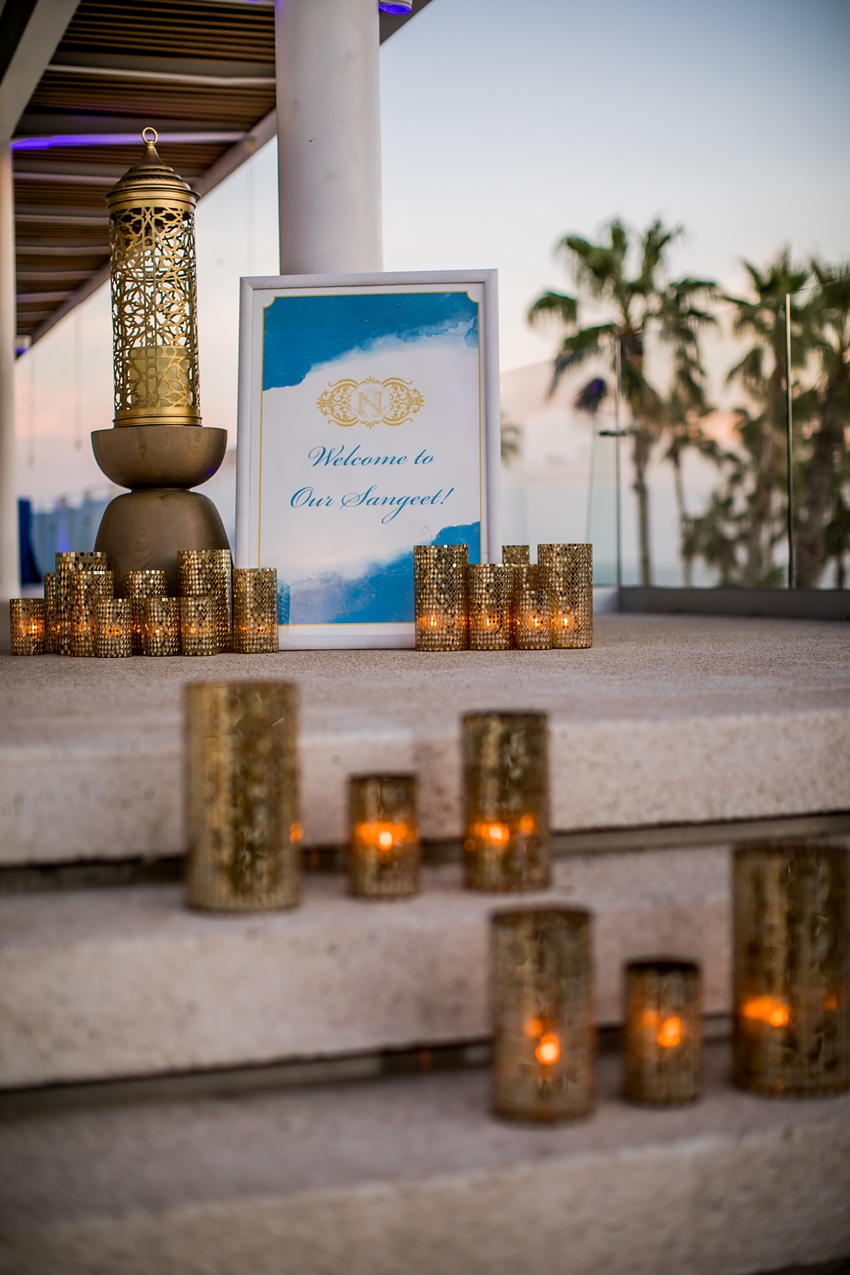 Indian Destination Wedding Cabo sangeet 0018
