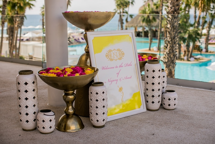 Indian Destination Wedding pithi Cabo 0000