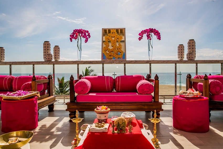Indian Destination Wedding pithi Cabo 0004