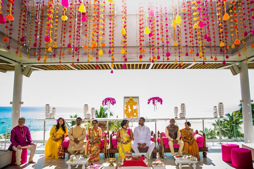Indian Destination Wedding pithi Cabo 0046
