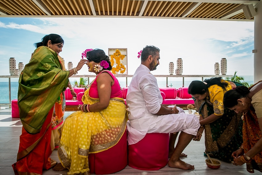 Indian Destination Wedding pithi Cabo 0059