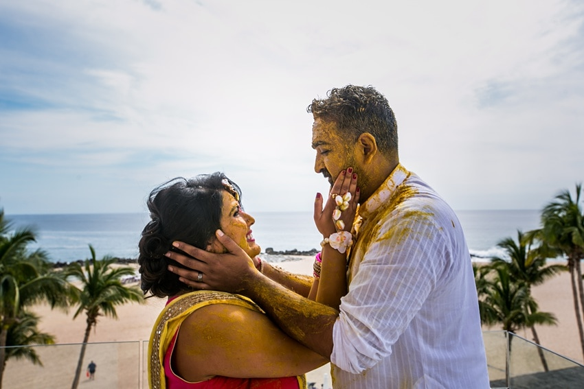 Indian Destination Wedding pithi Cabo 0065
