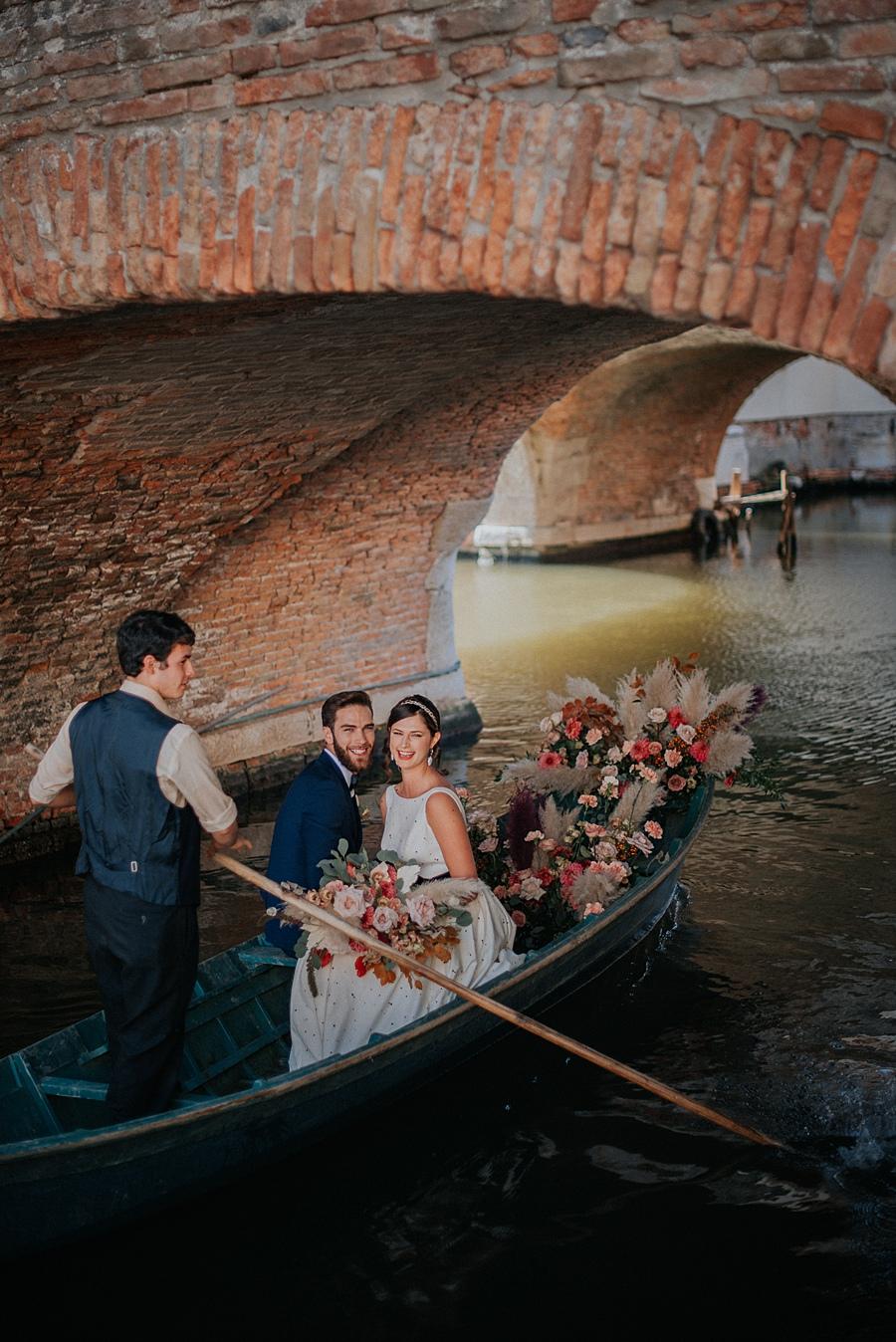 Italian Gondola Wedding Ceremony Getaway