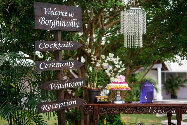 Jamaica Wedding at the Borghinvilla