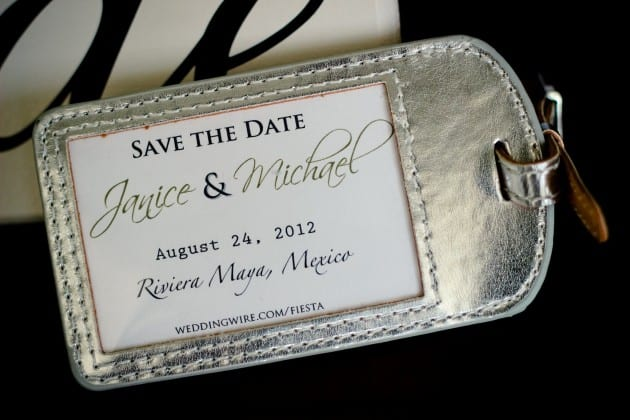 Wedding in Riviera Maya save the date