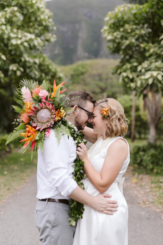 Kaneoho Hawaii Wedding