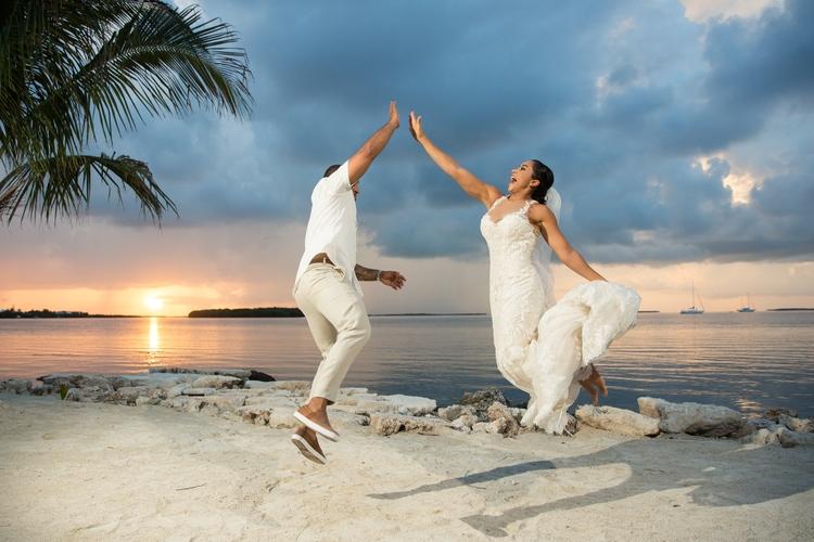 Key Largo Light House Wedding 10