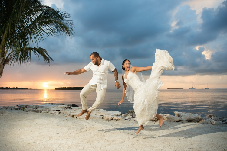 Key Largo Light House Wedding 12