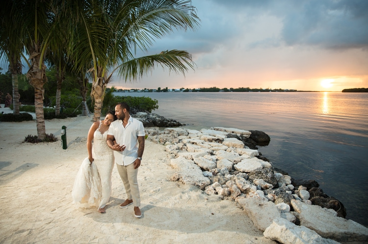 Key Largo Light House Wedding 14