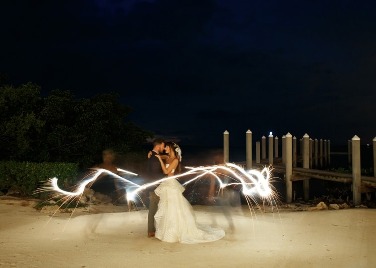 Key Largo Lighthouse Beach wedding 10