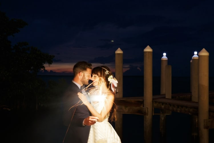Key Largo Lighthouse Beach wedding 13