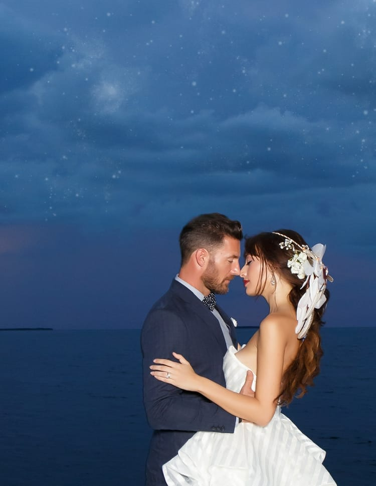 Key Largo Lighthouse Beach wedding 2