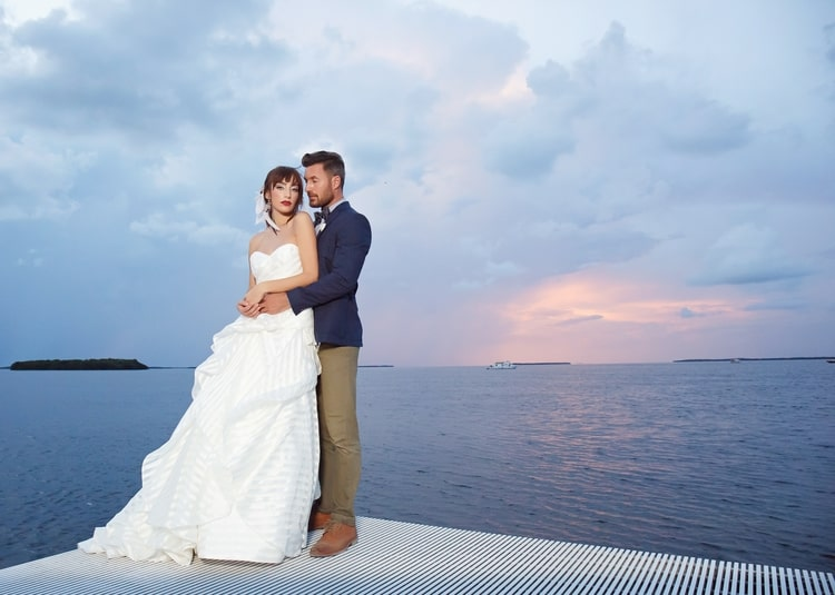 Key Largo Lighthouse Beach wedding 33