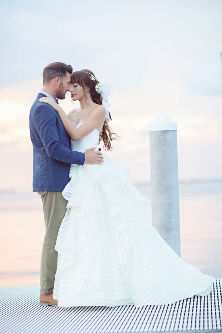 Key Largo Lighthouse Beach wedding 34