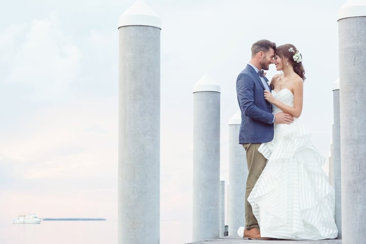 Key Largo Lighthouse Beach wedding 38