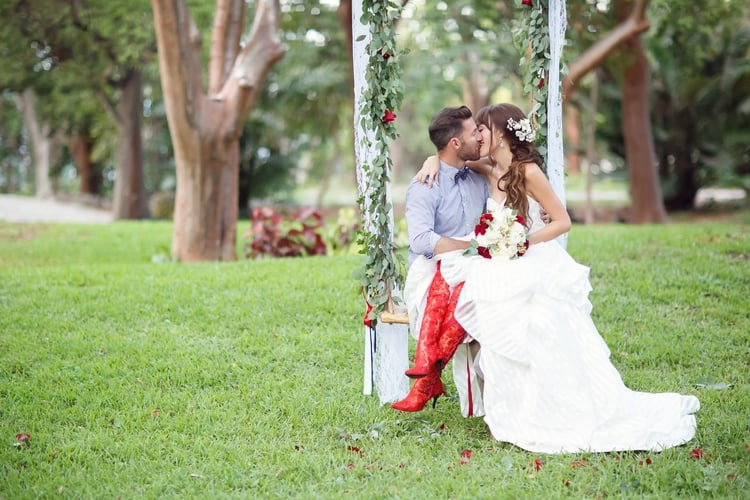 Key Largo Lighthouse Beach wedding 72