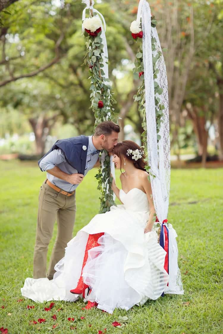 Key Largo Lighthouse Beach wedding 79