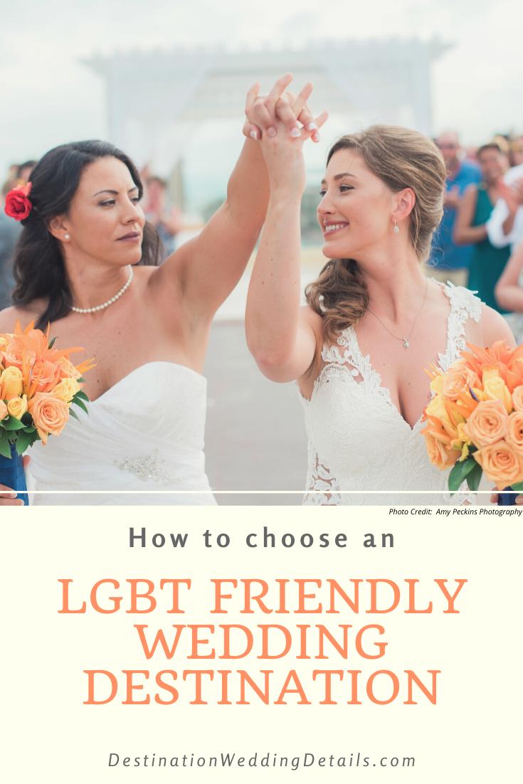 LGBT Friendly Destination Wedding Locations