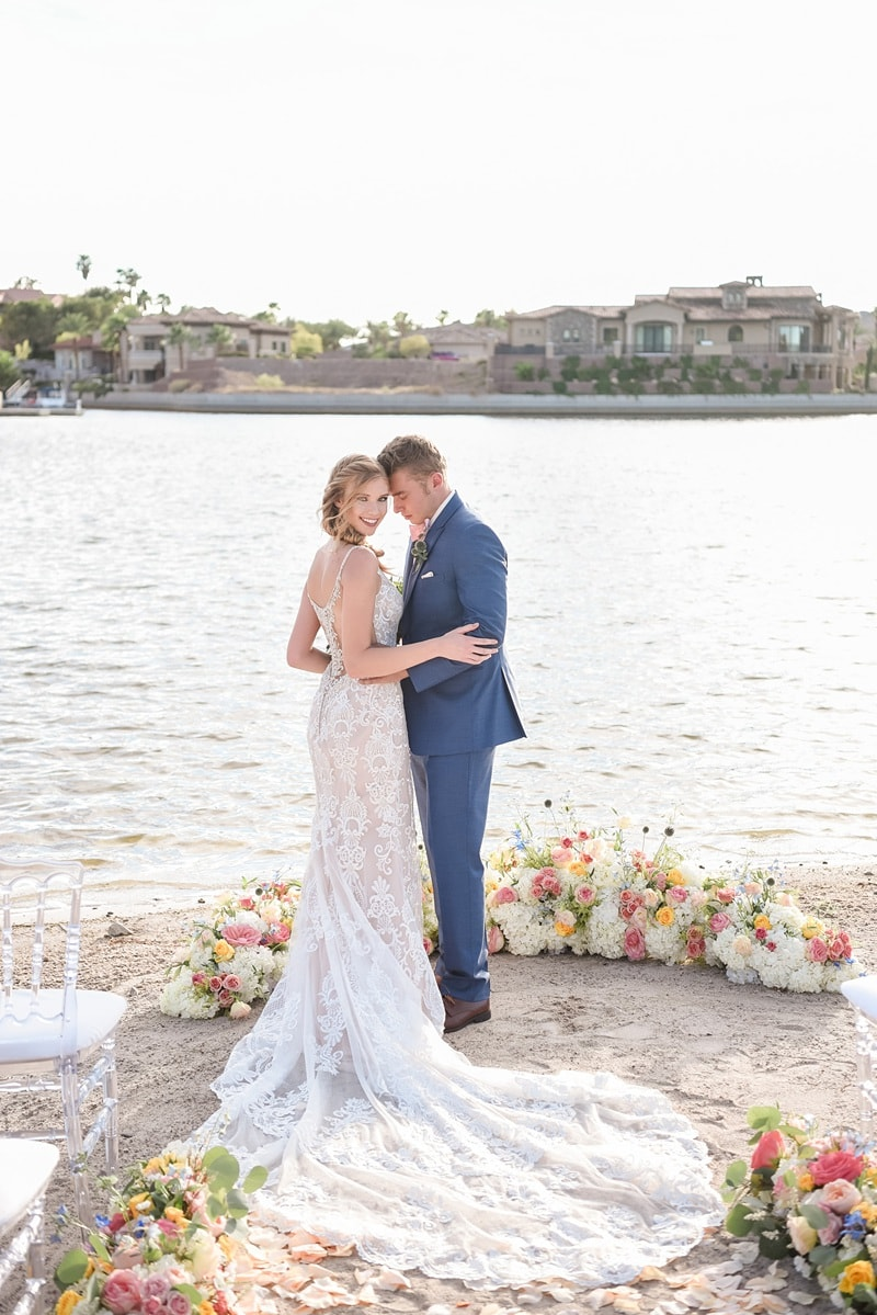 Lake Las Vegas Wedding 0007