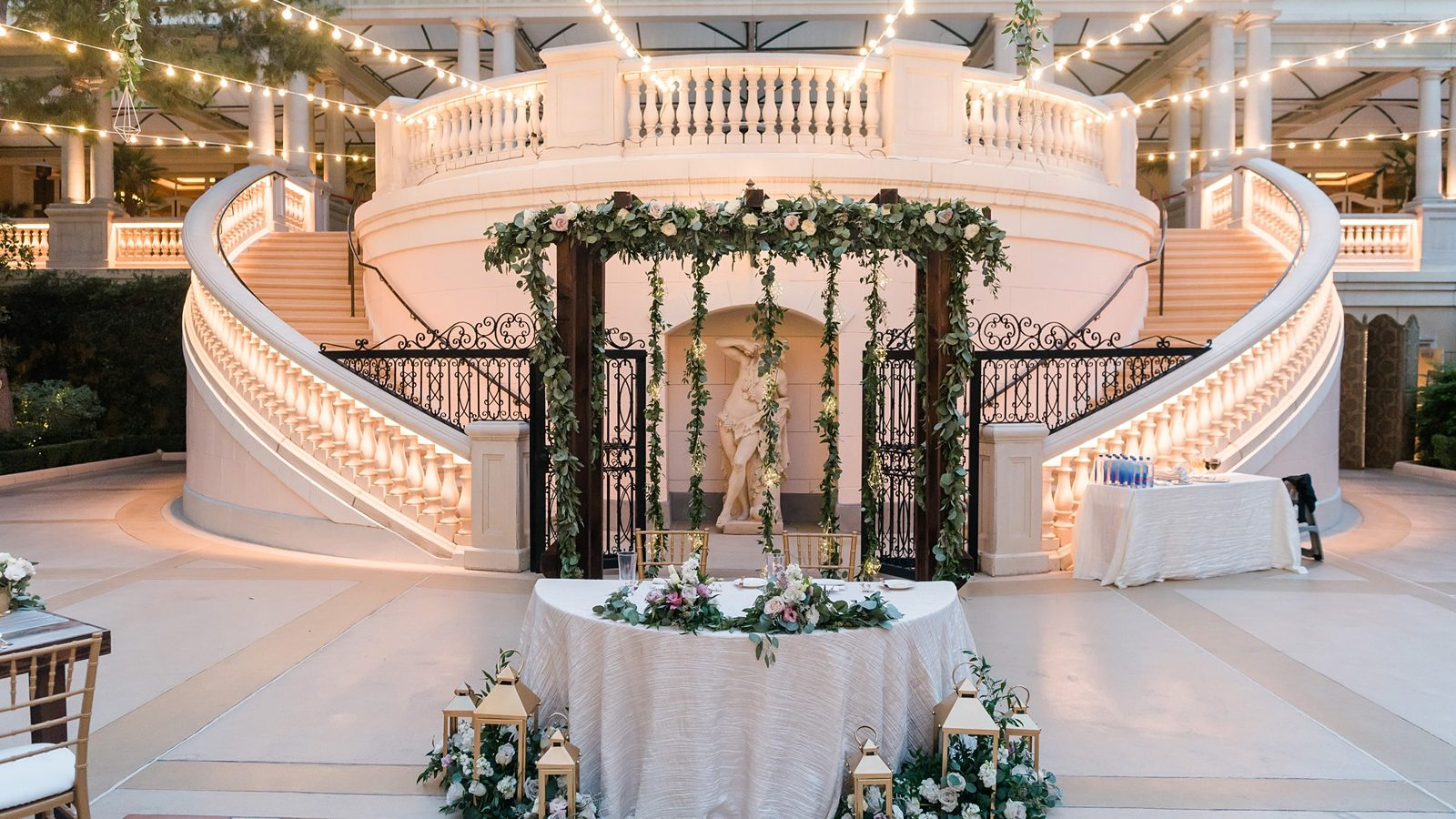Luxe Las Vegas Destination Wedding At