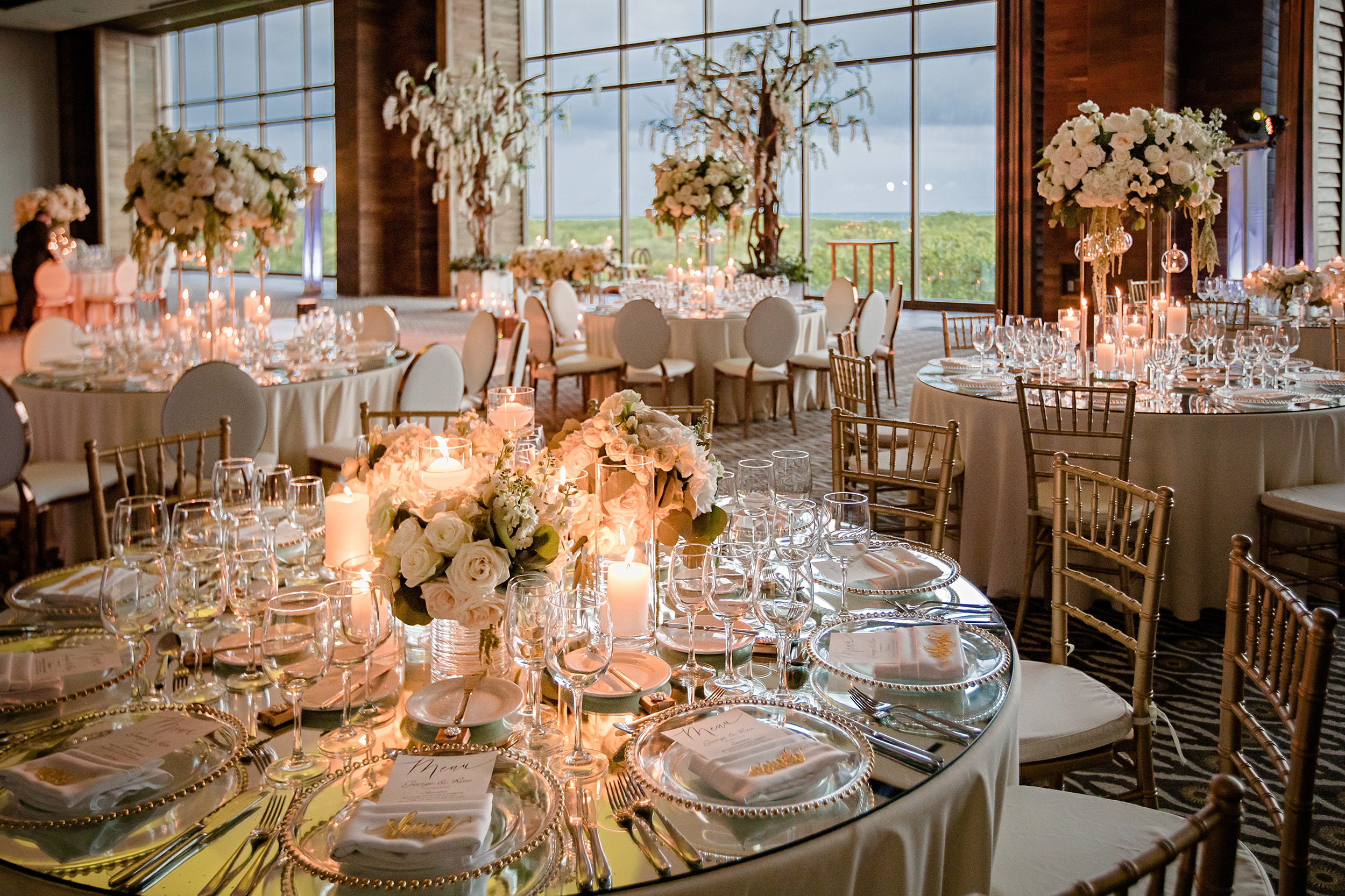 Luxe Romantic White Destination Wedding