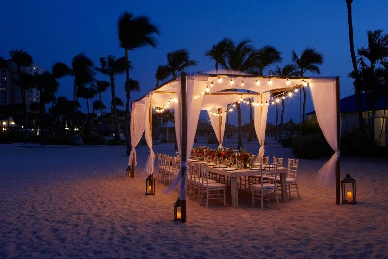 Marriott stellaris aruba wedding