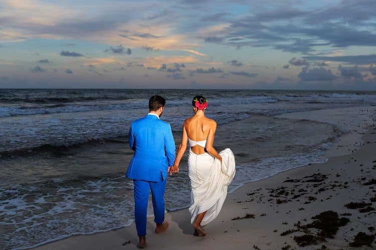 Mayan destination wedding at Casa Violeta in Tulum_30