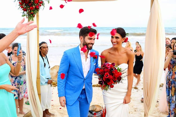 Mayan destination wedding at Casa Violeta in Tulum_52