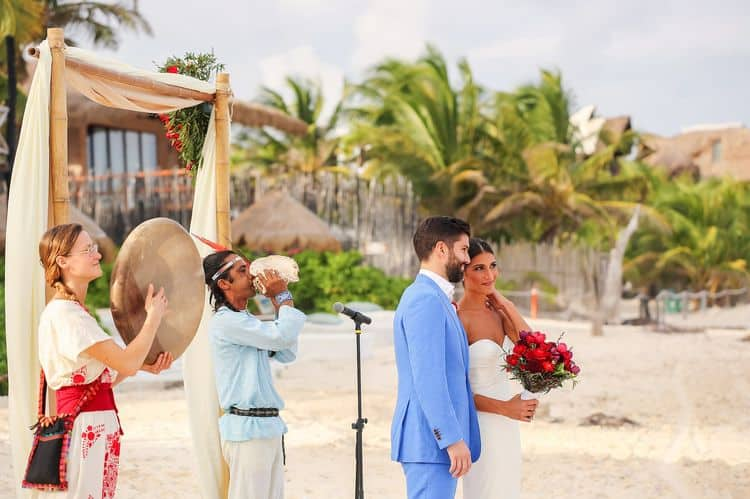 Mayan destination wedding at Casa Violeta in Tulum_86