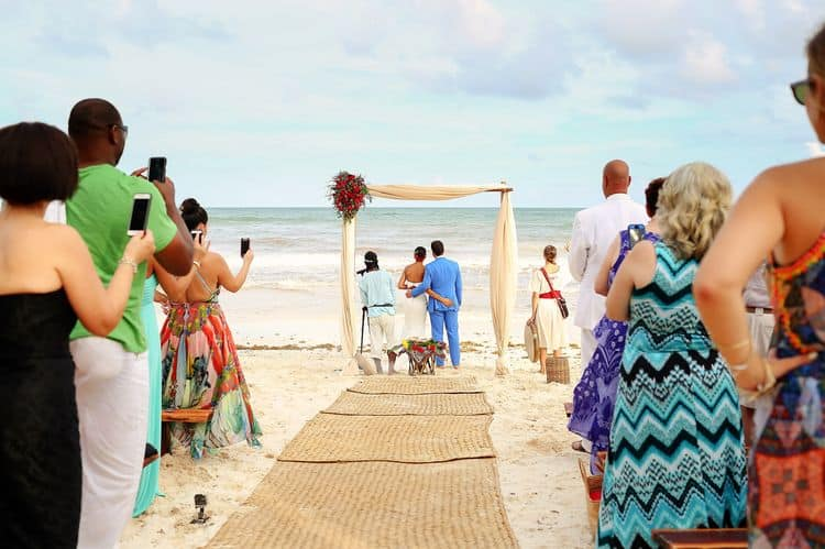 Mayan destination wedding at Casa Violeta in Tulum_87