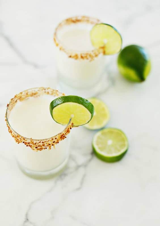 Mexico wedding signature drink_Toasted Coconut Margarita