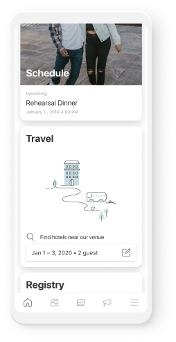 Mobile App Travel Page