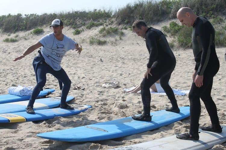 Montauk Yacht Club - Surf Lessons