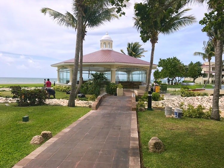 Moon Palace Cancun Wedding Chapel