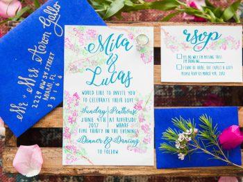 Vibrant Mediterranean Wedding Inspiration